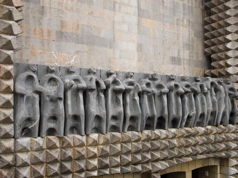 Oteiza Les 14 apôtres