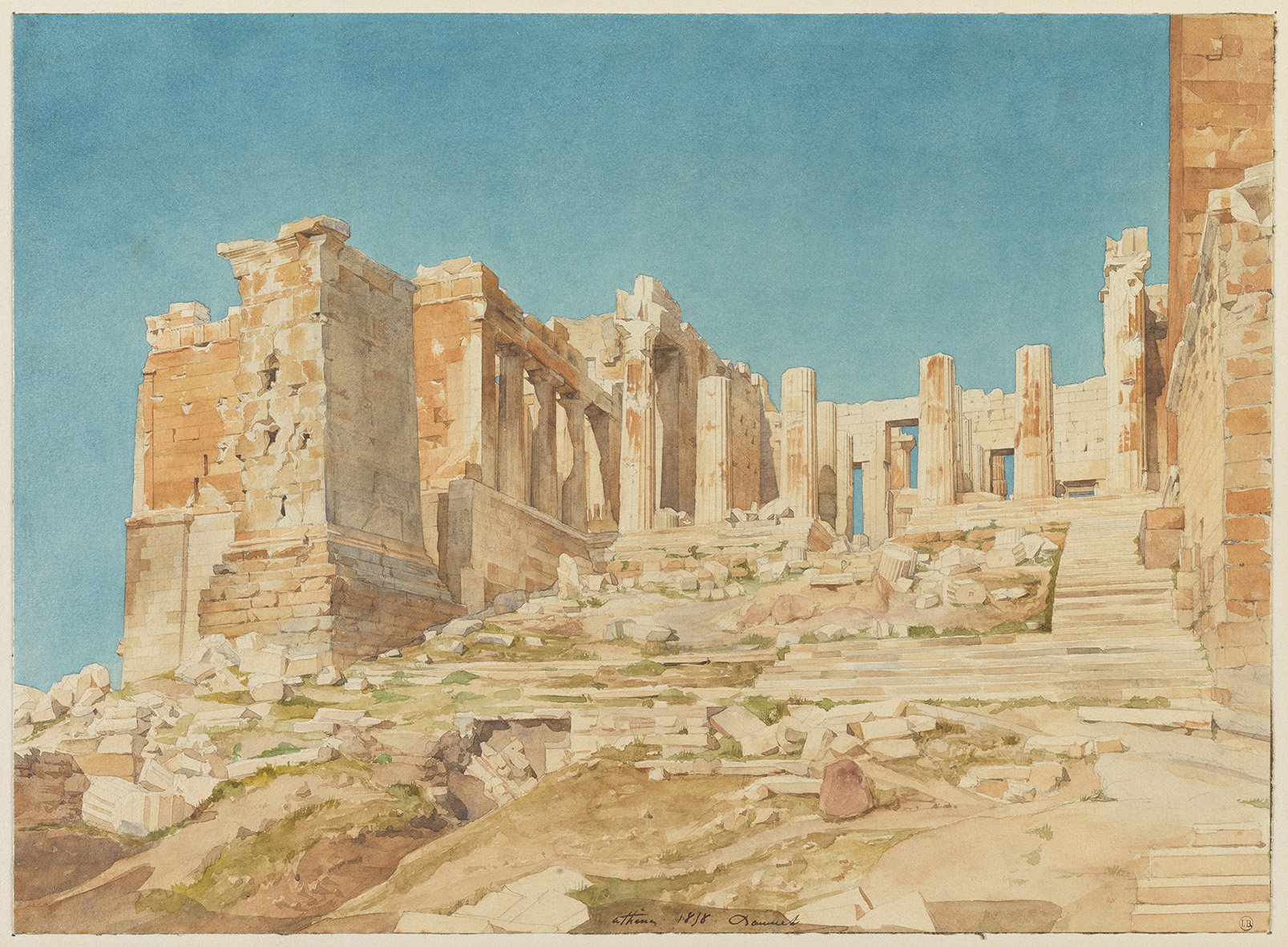 Honoré Daumet, L'Acropole d'Athènes,