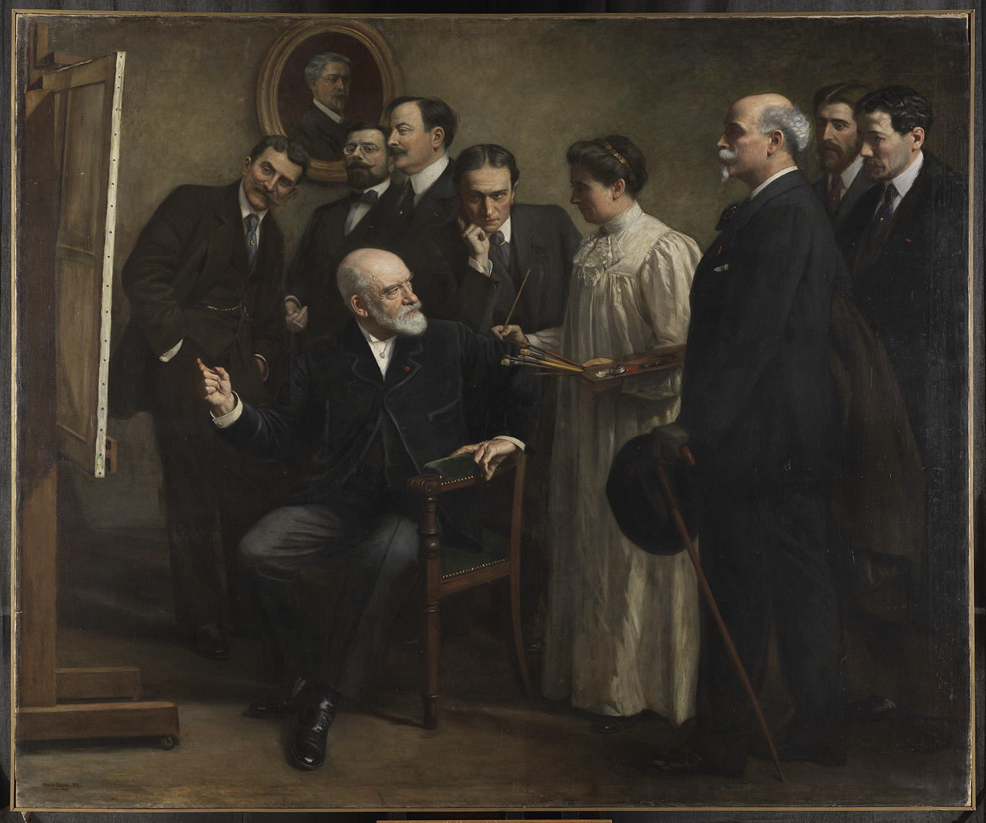 Marie Garay, Léon Bonnat et ses élèves