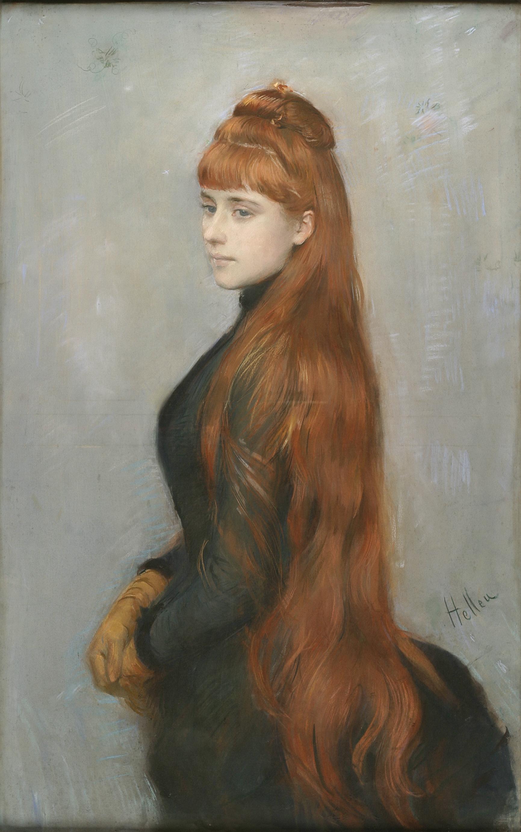 Paul-César Helleu, Mademoiselle Alice Louis-Guérin