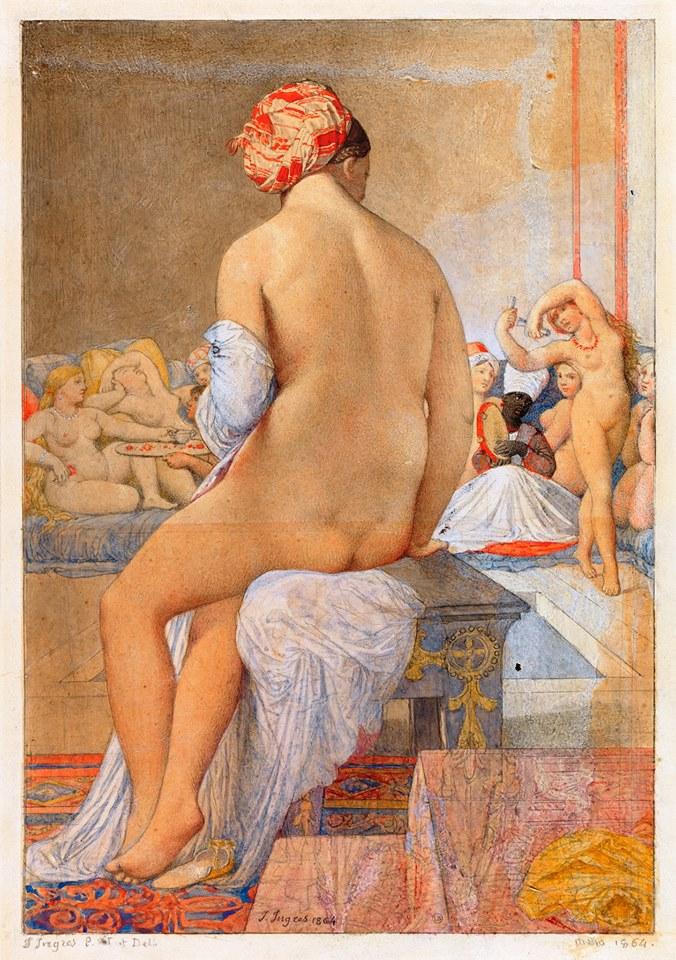 J-A-D. Ingres, Baigneuse