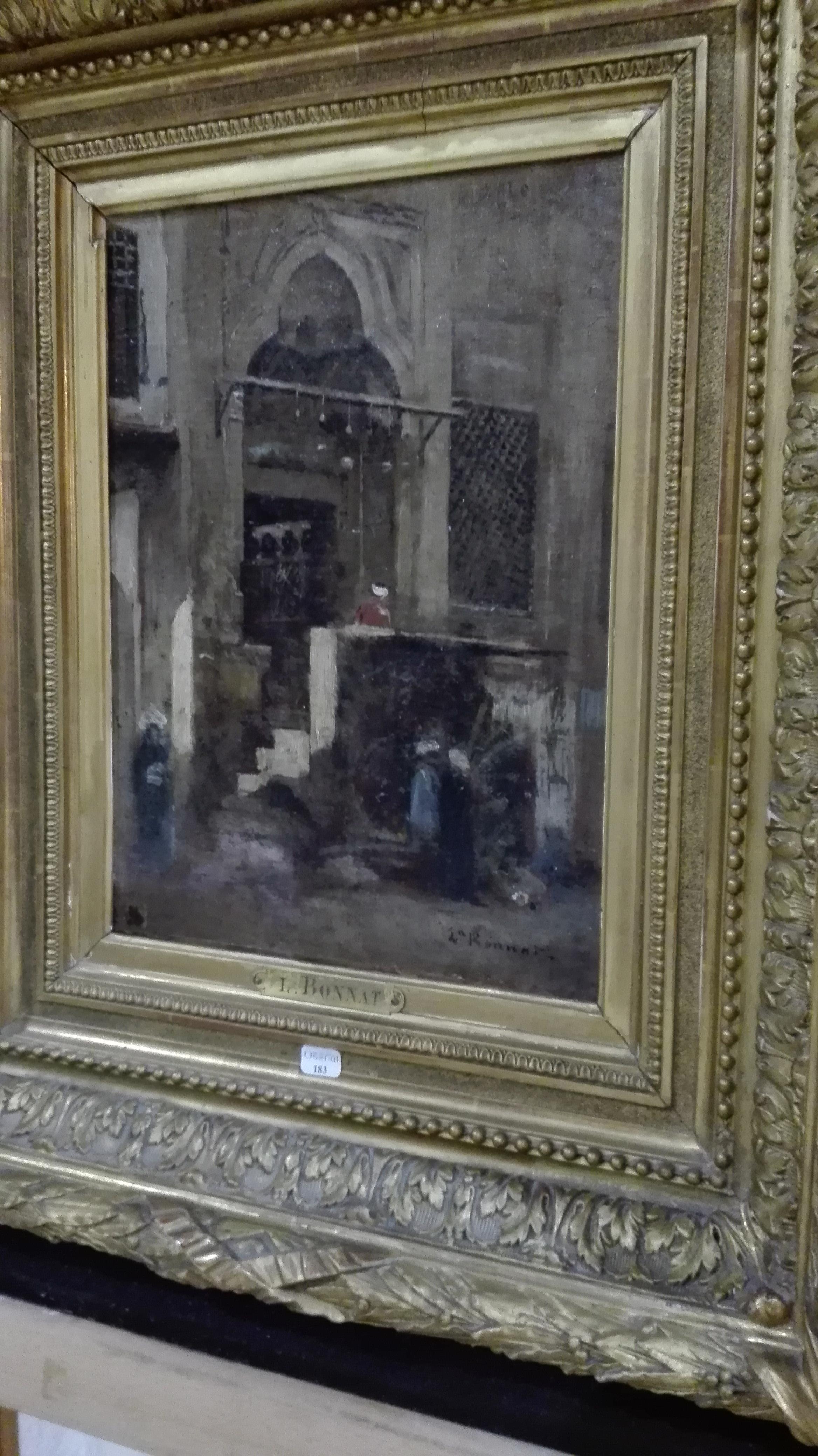 Léon Bonnat Porte au Caire