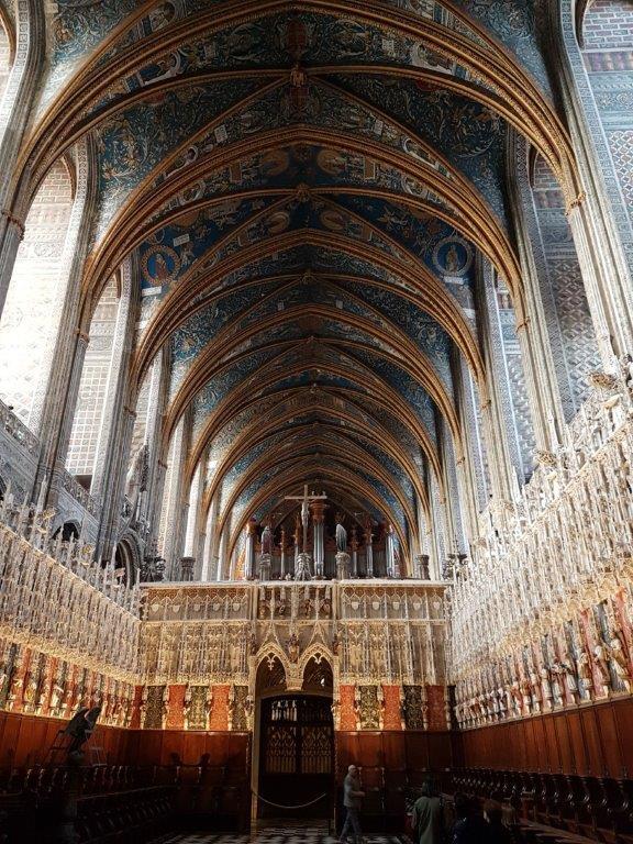 La cathédrale Sainte Cécile