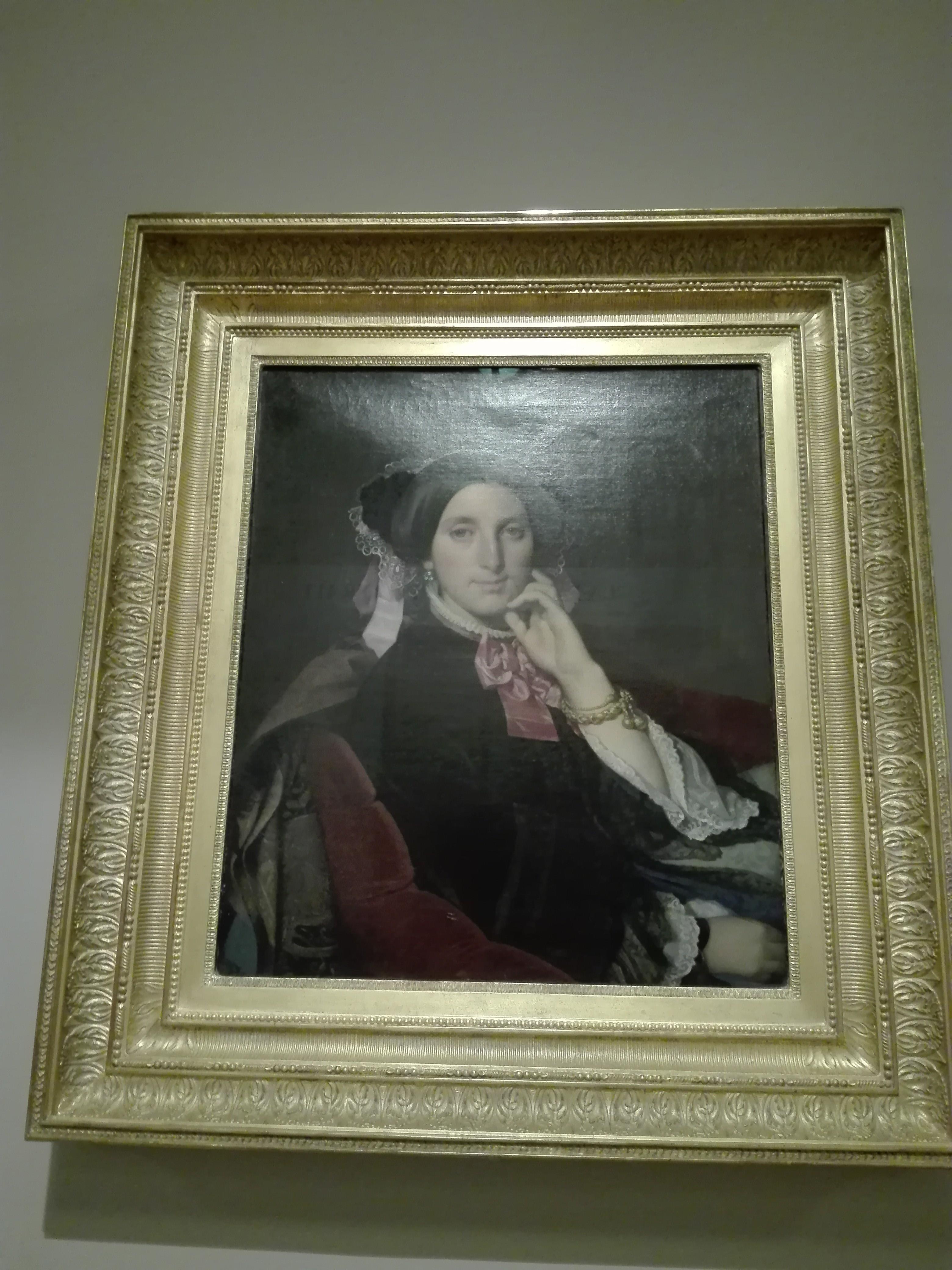 Jean-Auguste-Dominique Ingres, Portrait de Caroline Gonse, 1852 1852