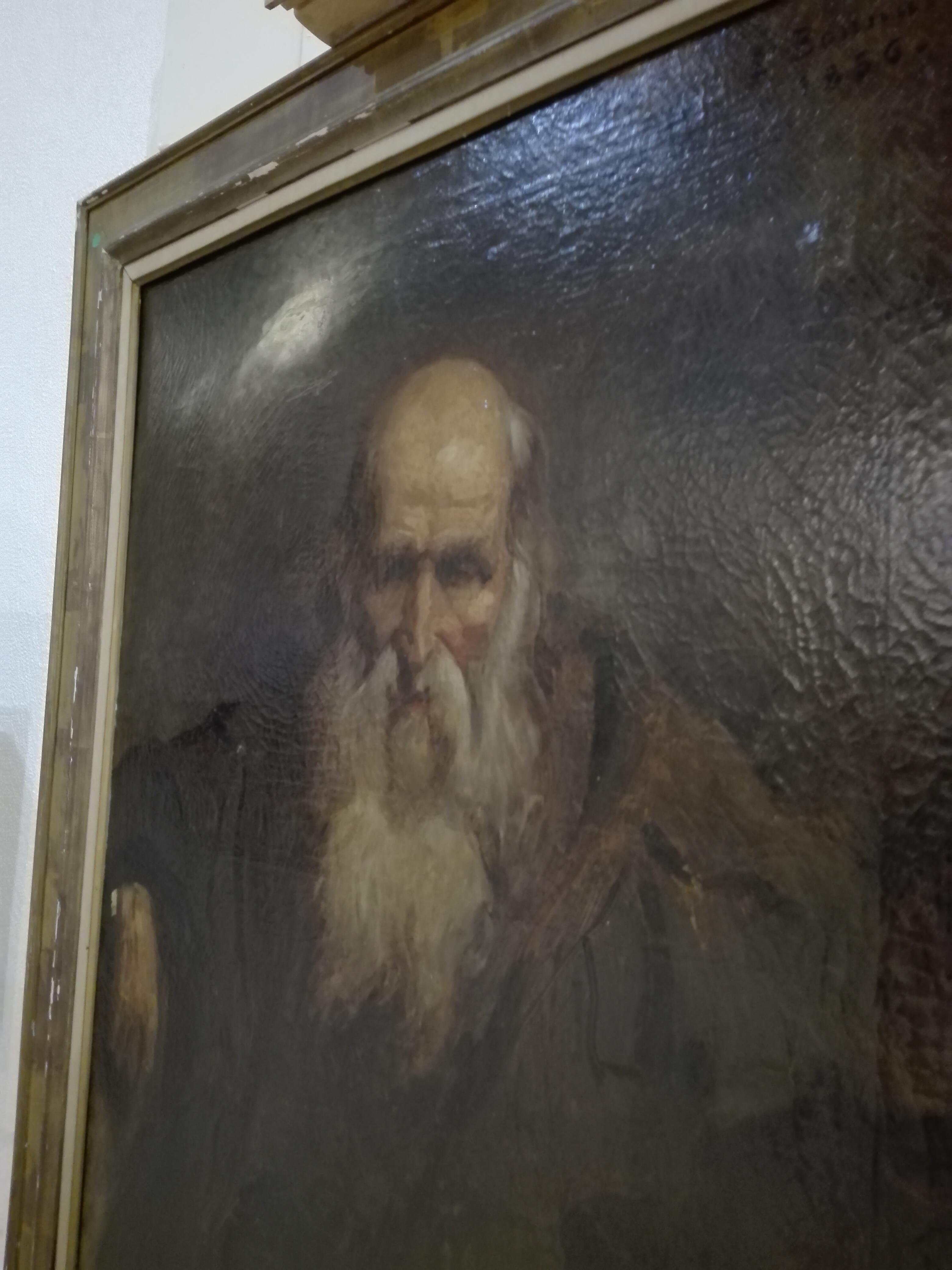 Léon Bonnat Portrait de vieillard,