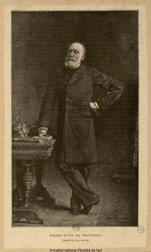 Léon Bonnat, Pierre Puvis de Chavannes