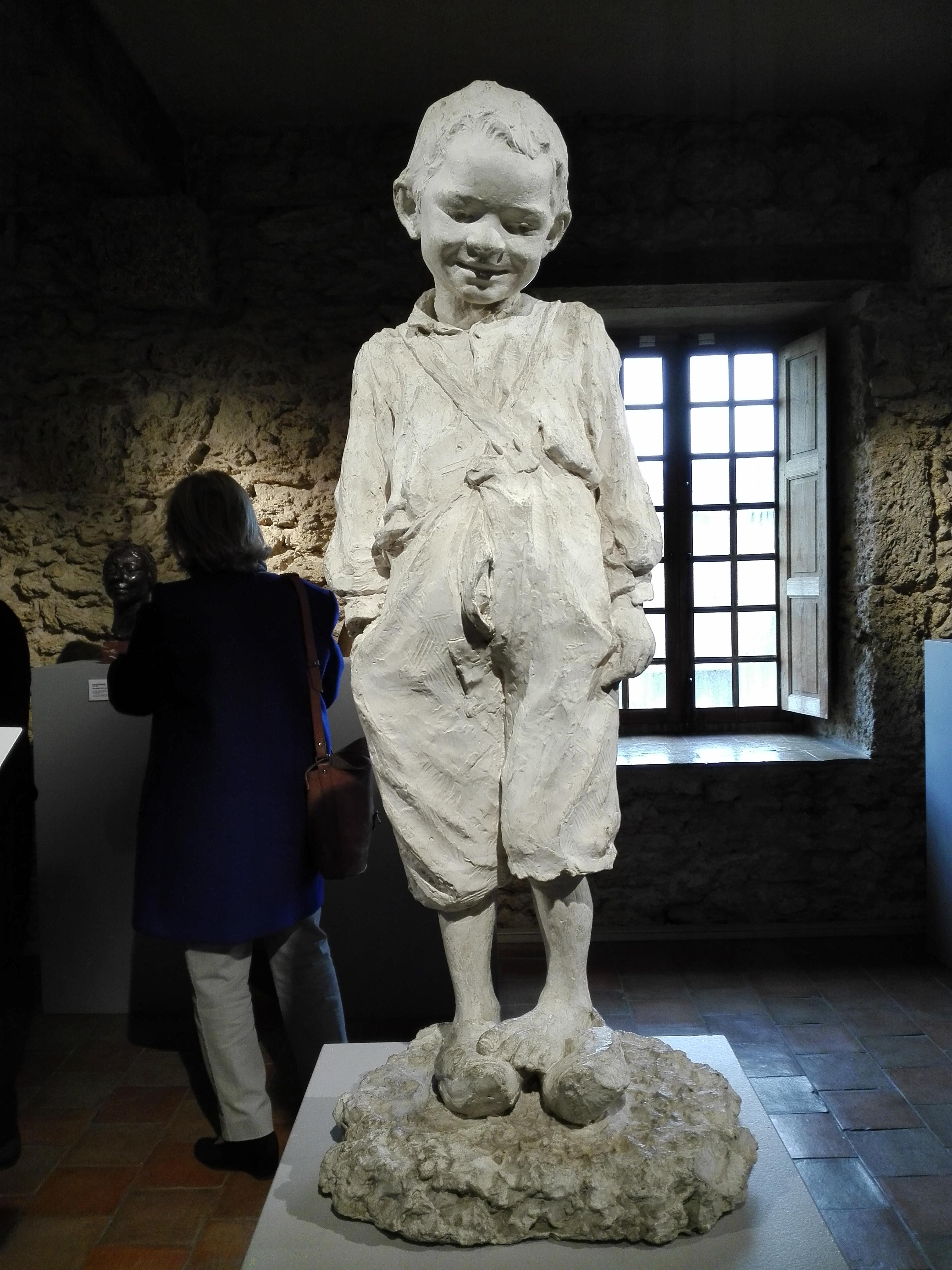 Robert Wlérick  L'enfant aux sabots  Avant 1906