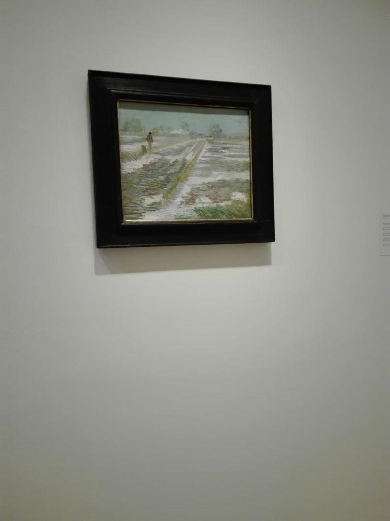 Vincent Van Gogh, Paysage de neige