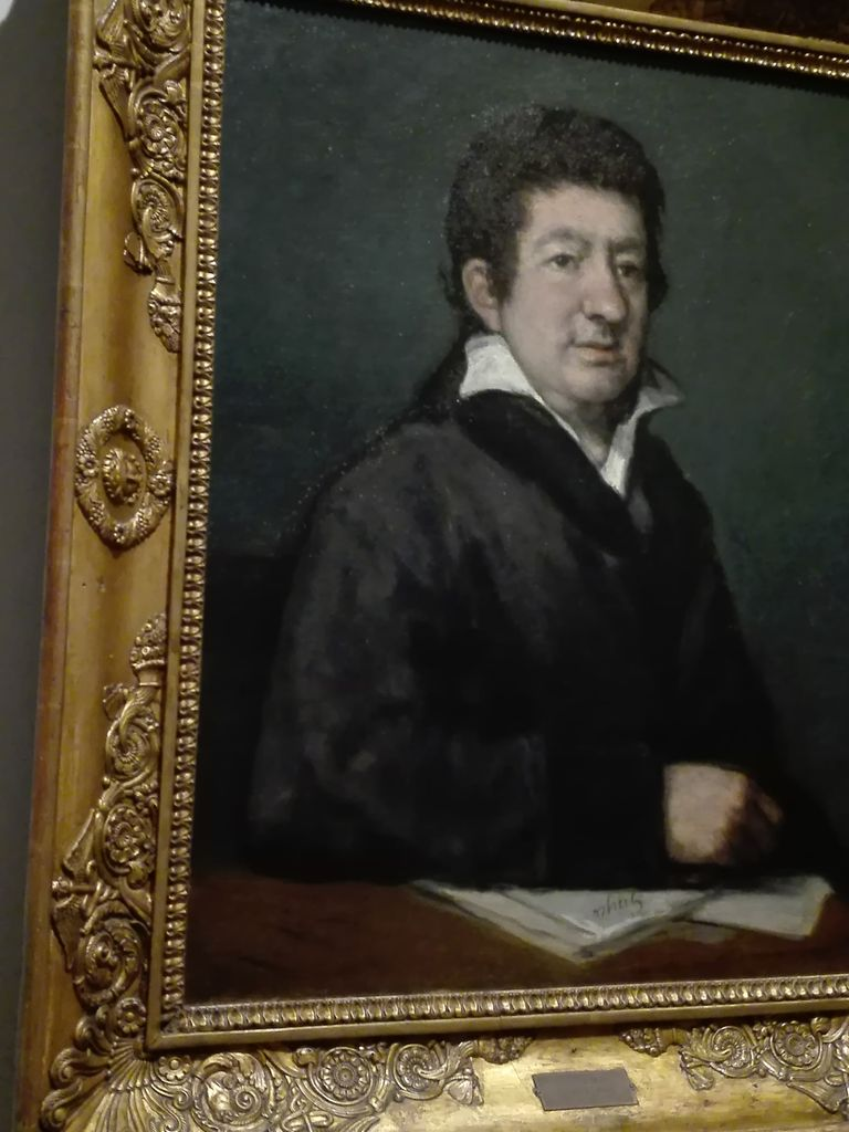 Francisco de Goya, portrait du poète Moratin, 1824