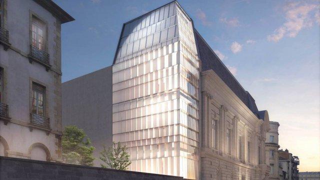 Croquis des architectes Brochet Lajus Pueyo pour la Ville de Bayonne Le futur musée