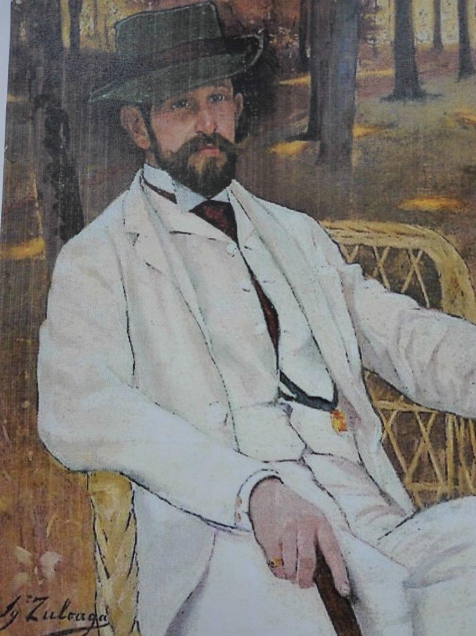 I. Zuloaga Portrait du Marquis de Villamarciel, 1890 Paris