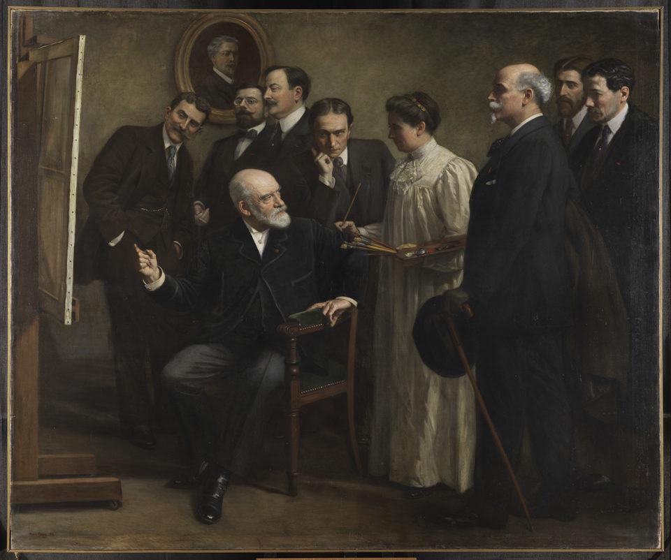 Marie Garay Léon Bonnat et ses élèves